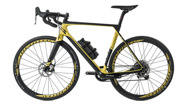 Infinity ebike ZeroY Gravel Yellow no drive